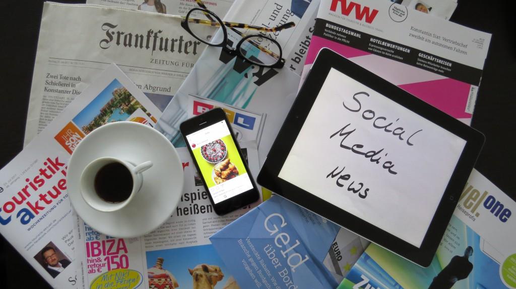 Social Media News - KPRN - Kaffeepause - Zeitungen - Magazine