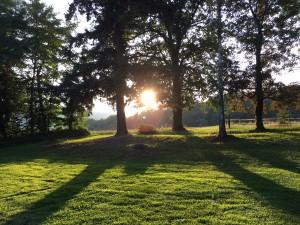 Sonnenuntergang Taunus Kelkheim