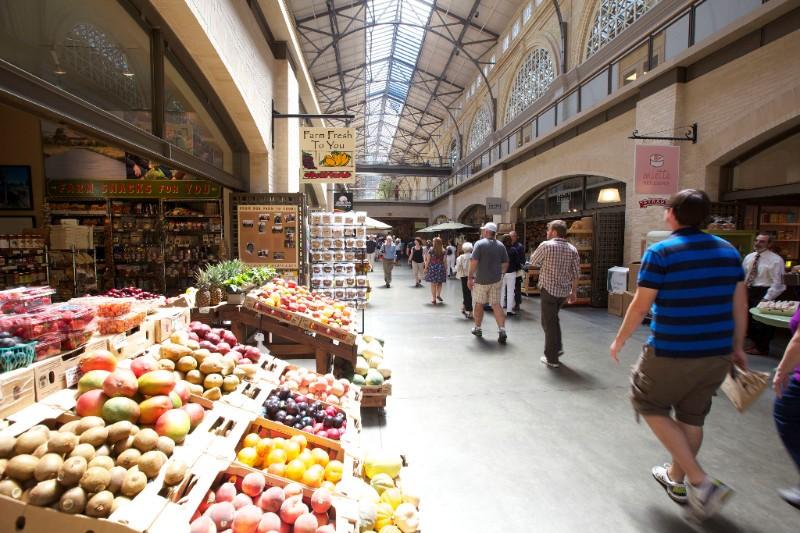 KPRN_San Francisco_Markthalle_Obst_Gemüse