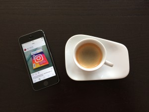 Iphone, Social Media, Instagram, Kaffeepause