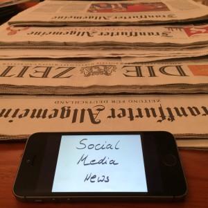 Presse, Zeitung, Social Media, Neuigkeiten