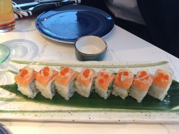 Sushi in einem Restaurant der Norwegian Bliss