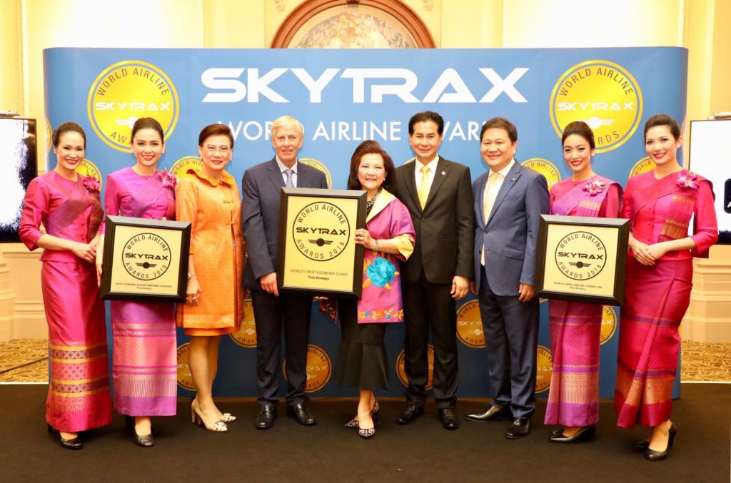THAI gewinnt drei Skytrax Awards 2018