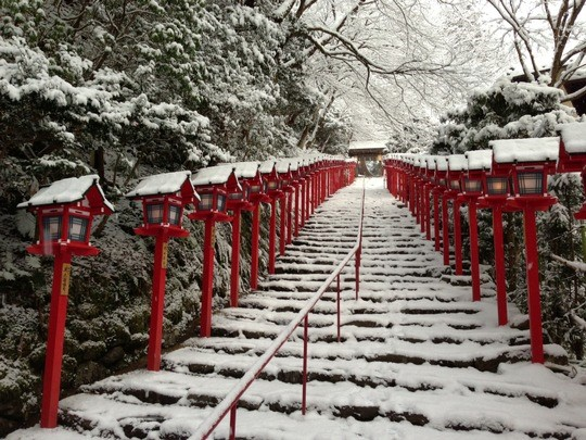 Kifune-jinja Shrine_Copyright Kyoto City Tourism Association