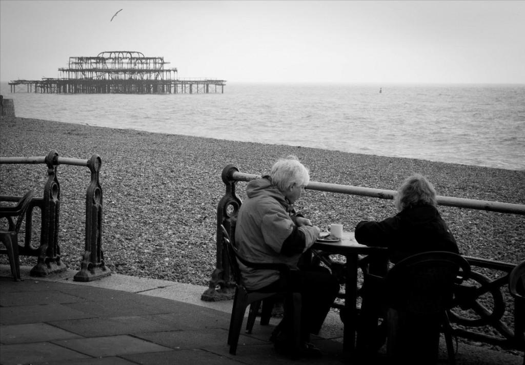 Brighton_Afternoon Tea_Schwarz_weiß