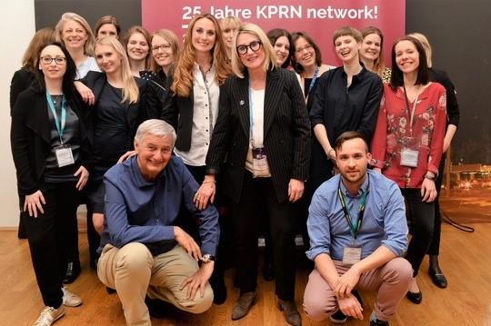 Das KPRN Team mit Reiner Meutsch (v.l.)