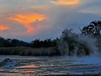 Uganda_Sonnenuntergang_Wasser