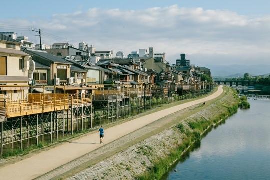 Kamo River, Kyoto