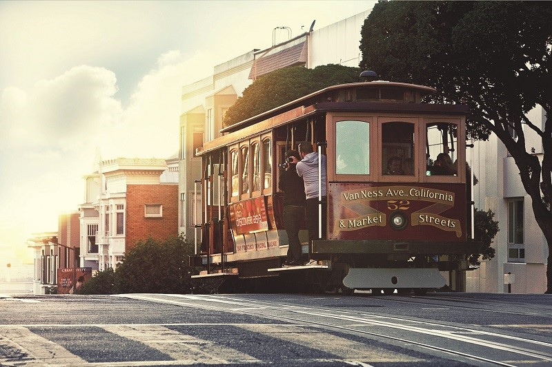 All time classic - eine Fahrt mit dem Cable Car